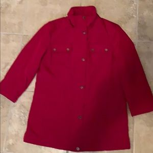 London Fog Women's Red Jacket Size Small